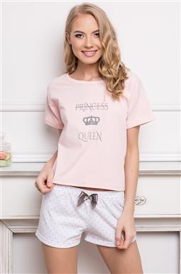 Pijamale scurte dama bumbac  Princess