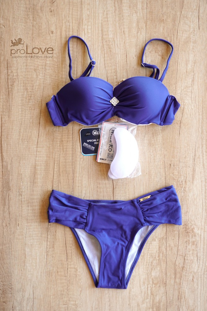 Costum de baie Janet Royal Blue