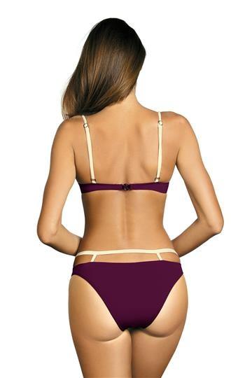 Costum de baie Emma Magenta Purple