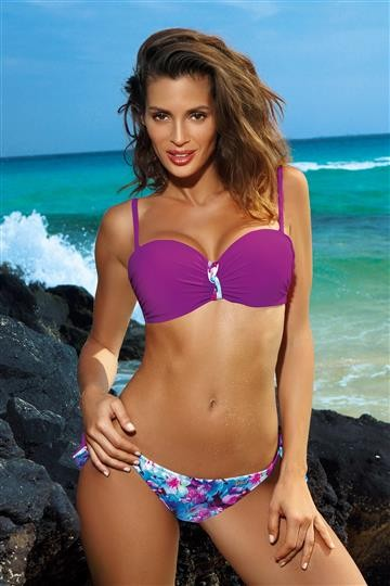 Costum de baie Betty Very Fuchsia