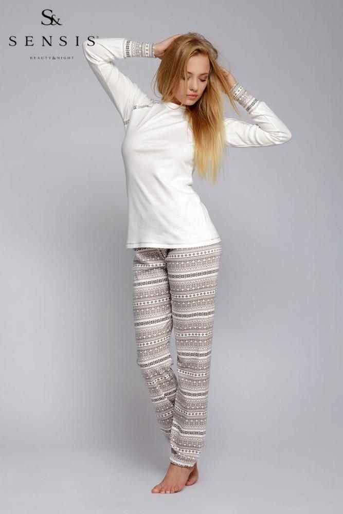 Pijamale bumbac dama Norveg