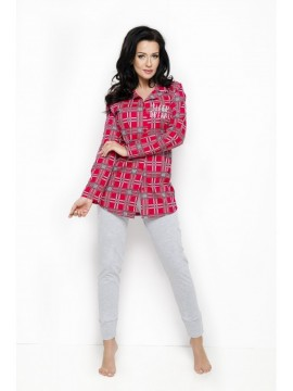 Pijamale lungi dama bumbac Dalia