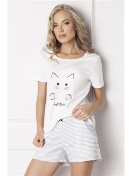Pijamale scurte dama din bumbac Catwoman Short