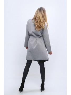 Palton usor din lana cu revere mari 1742