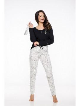 Pijamale din bumbac dama Camelia