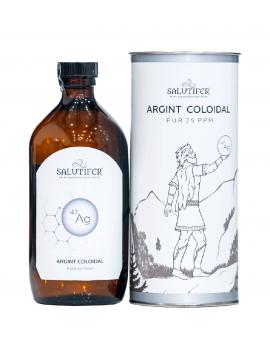 Pachet 2 produse Argint Coloidal SALUTIFER® + Spray Nazal
