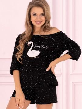 Pijamale scurte dama Swan