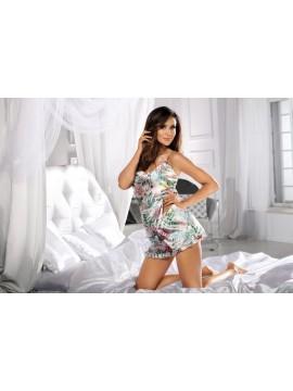 Pijamale de lux din satin Donna Katie 01