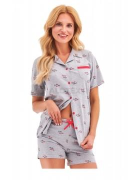 Pijamale scurte din bumbac Amy