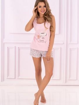 Pijamale din bumbac Sweet Cake