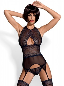 Corset sexy Orient 3 piese Obsessive