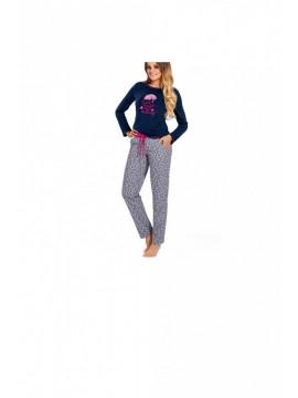 Pijamale lungi din bumbac Darling