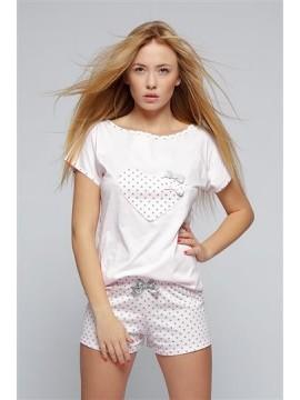 Pijamale de dama scurte Bulina